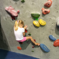 A New Adventure:  Rock Climbing