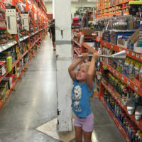 Gracie in Home Depot