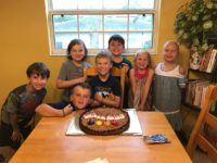 A Soggy, Slumber Party Birthday